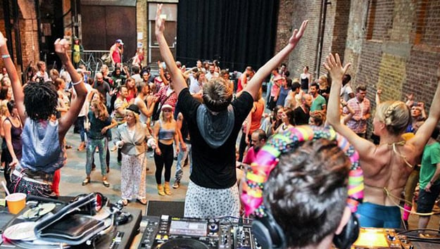 Dance your way into the day with a morning rave news for Deep house rave
