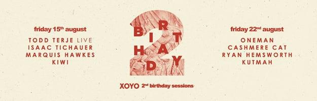 XOYOBday