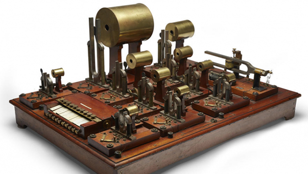 helmholtz apparatus - first synthesizer