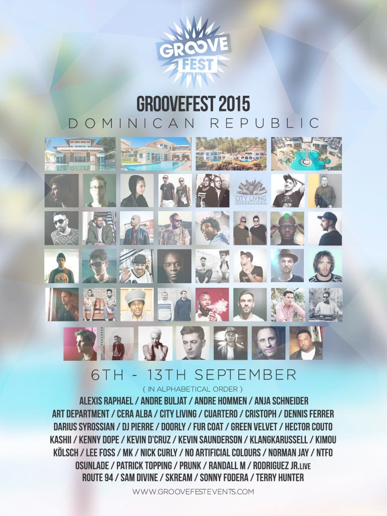 Groovefest - Final Poster