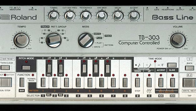 39 acid machine 39 lets you make 303 style acid in your web for Best acid house tracks