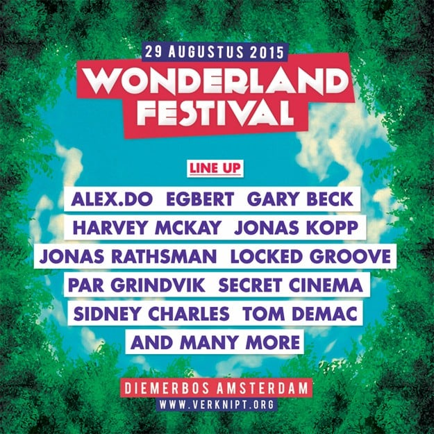 Wonderland Festival Line Up Announcement – Deep House ...