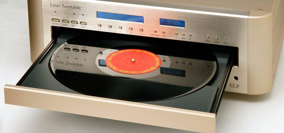 Play Vinyl Records Without Touching Them Deep House