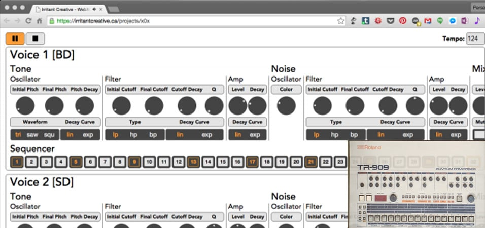 Make Beats With This Browser Drum Machine App – Deep House