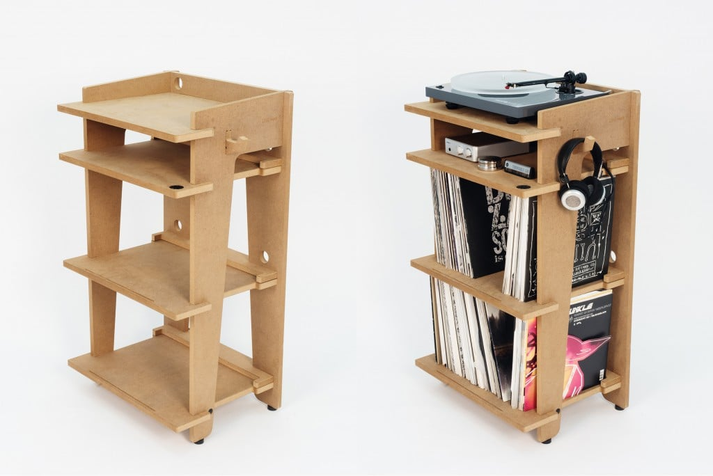 Record store vs ikea on a quest to create the best for Turntable furniture