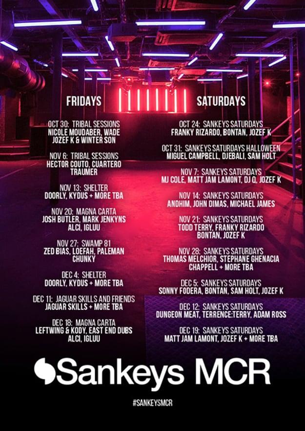 Sankeys_Manchester_Unveils_Lineup