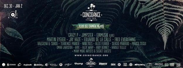 Coincidance>Music_Festival_Lineup