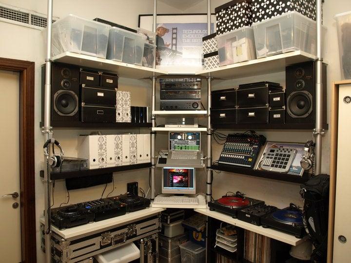IKEA Hacks Prove Cheap Alternative To DJ amp Studio Furniture