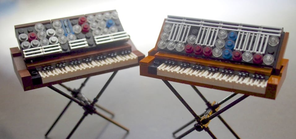 synth geek creates miniature lego versions of classic moogs