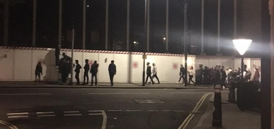London police allow 36 hour rave due to number of people for Deep house rave