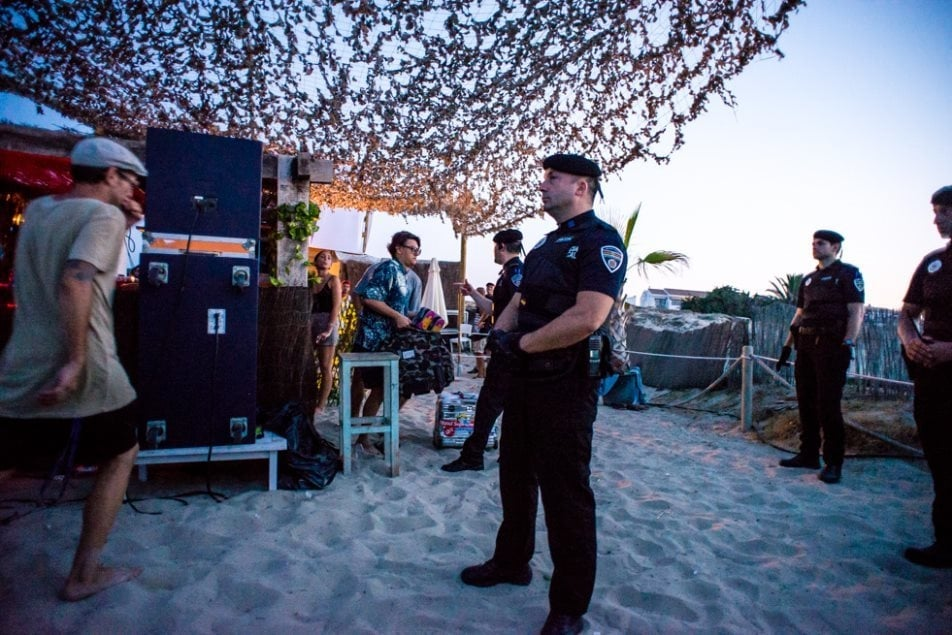 Police Crash tINI & The Gang party on Ibiza