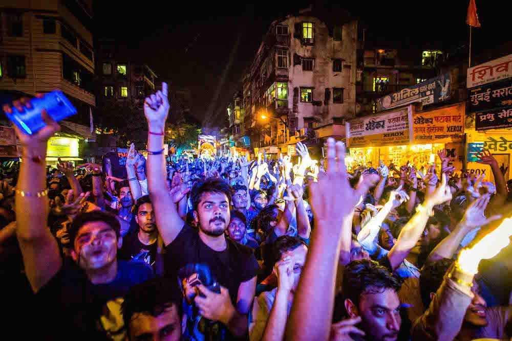 Ravers in Mumbai