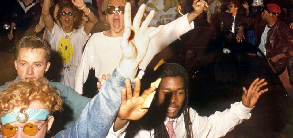 Sankeys to host retro acid parties dance 88 89 in ibiza for Deep house rave