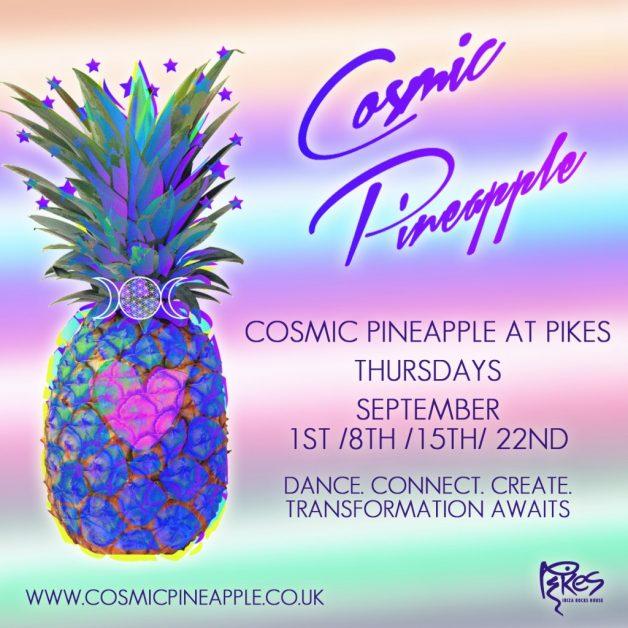 cosmic pineapple-in post