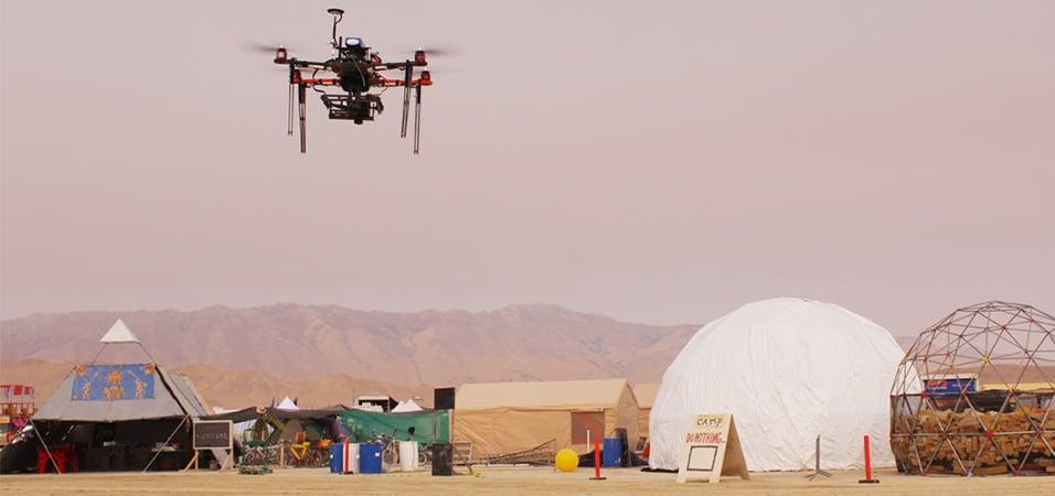 Drones-music-festival-service