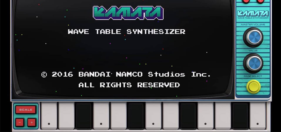 korg-namco-video game-synth