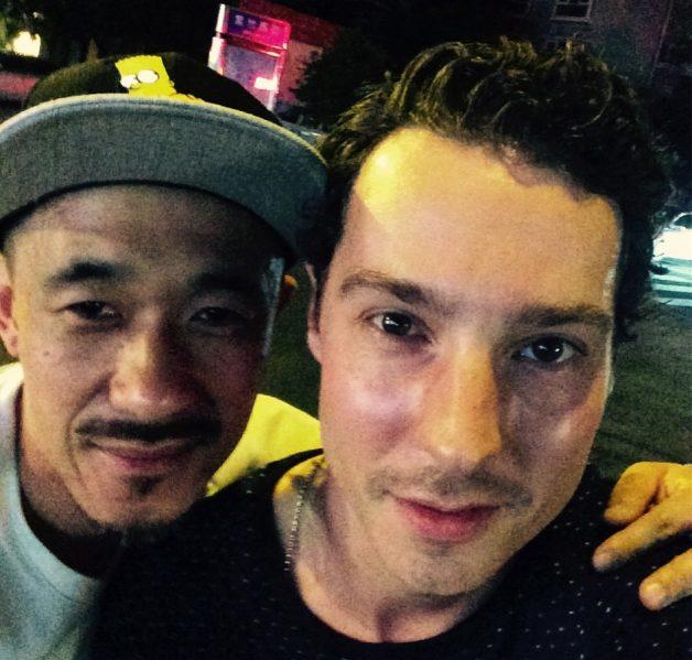 Yang Bing & Freddie in Chengdu