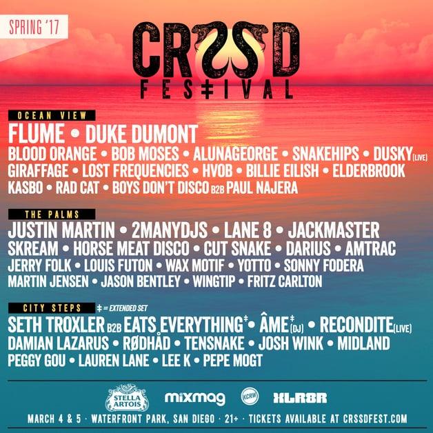 CRSSD-2017-lineup