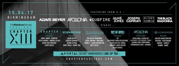 rainbow venues-chapter 13-lineup