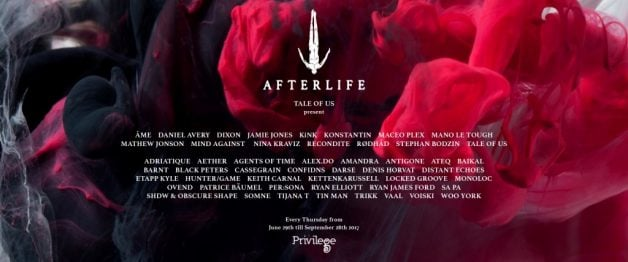 Afterlife-lineup-Ibiza-2017