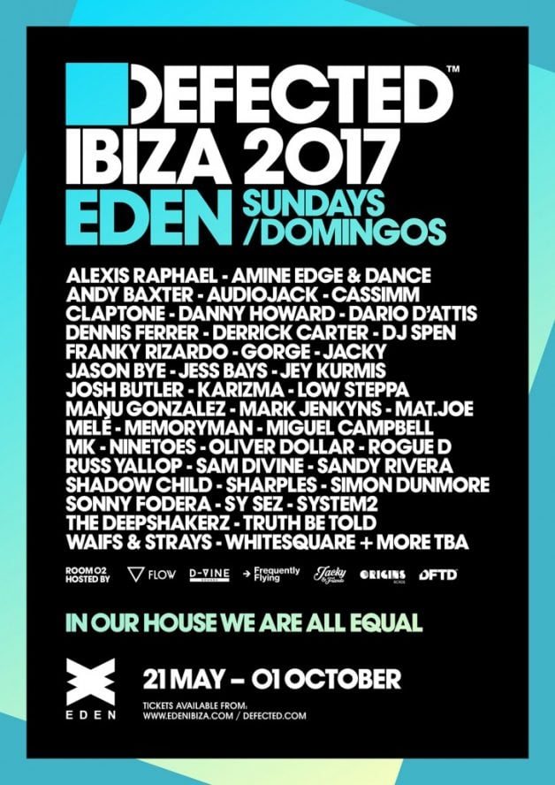 Defected-Eden-Ibiza-lineup-in-post