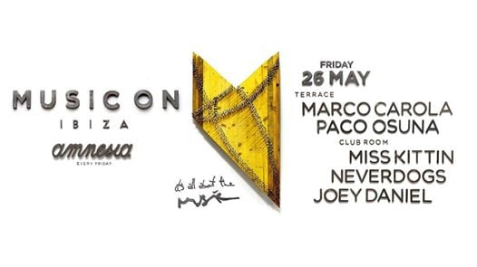 may 26 music On Ibiza