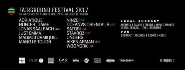 fairground-festival-tunisia-2017-lineup