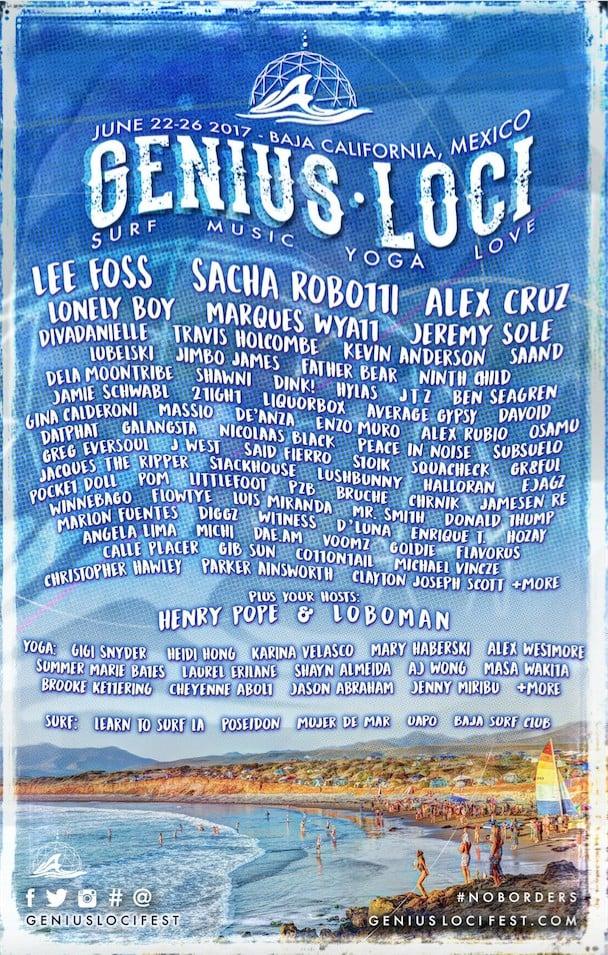 Genius Loci-FEST-2017-lineup