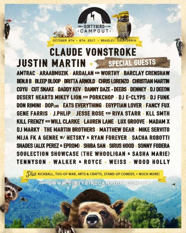 dirtybird campout-lineup-2017