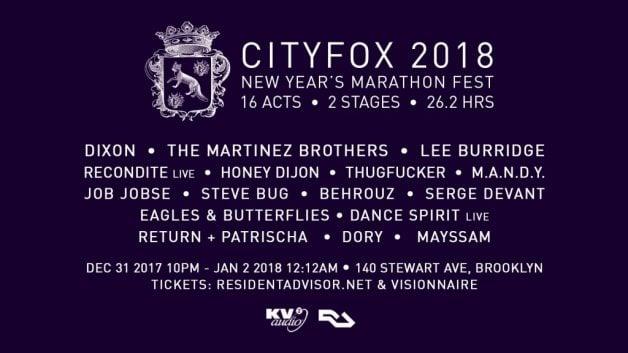 cityfox-2018-lineup