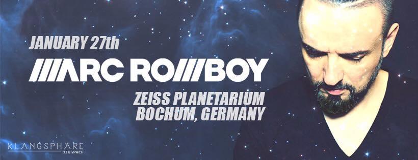 marc romboy-planearium-playloist