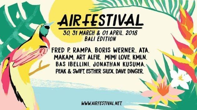 AIR Festival-2018-lineup