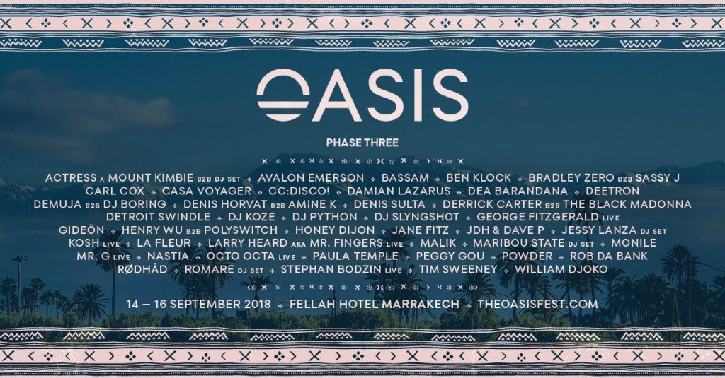 oasis festival_2018_phase-3_lineup