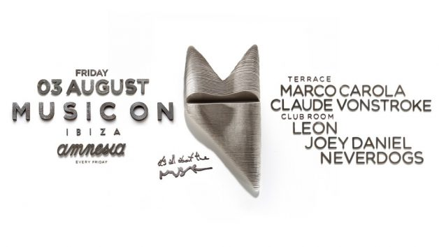 3 August - Music On-lineup