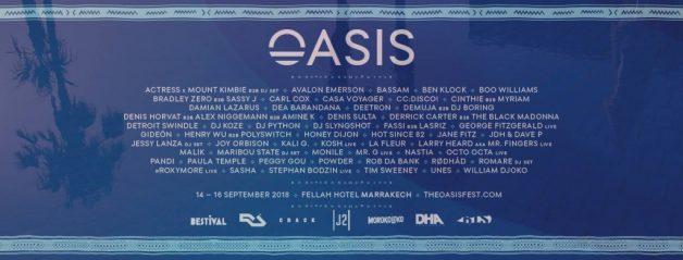oasis festival-2018-lineup-full-list